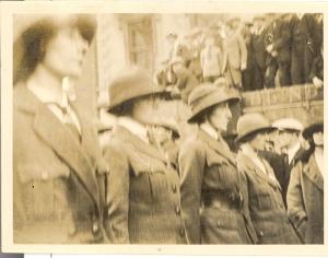 Members of Cumann na mBan, Kilmainham Gaol Archives