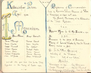 Located in the Autograph Book of Nellie Fennell (Kilmainham Gaol Archive).